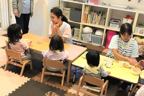自社託児所「ポエモ」で子育てとお仕事の両立も安心